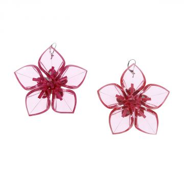 Pendant Earrings Flower