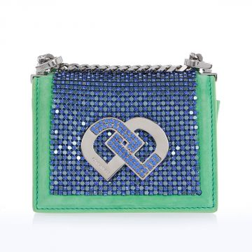Mini Jeweled Shoulder Bag