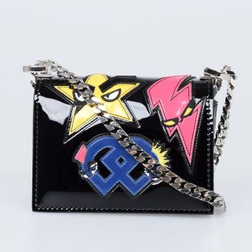 Punk Patches Shoulder Bag