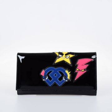 Embroidery Clutch With Chain