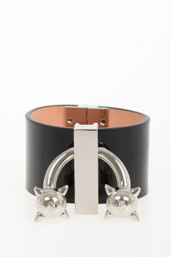 Patent Leather & Metallic Bracelet