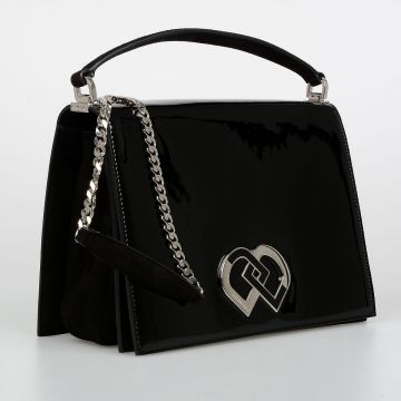 Patent Leather Medium Bag