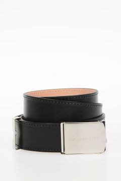Leather PILL BOX Belt 30 mm