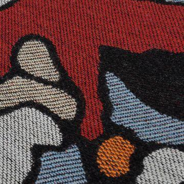 CHERRY BLOSSOM Embroidery Poncho