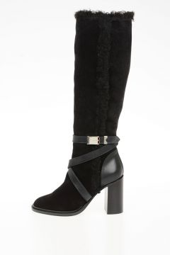 Shearling PILL BOX Boots