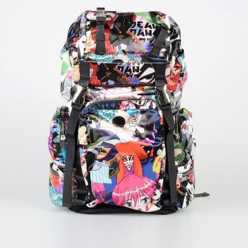 Manga Printed Backpack