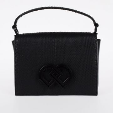 Snake Leather Little Bag