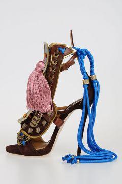 Suede SAMURAI Sandals