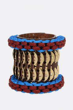 Leather COIN Bracelet