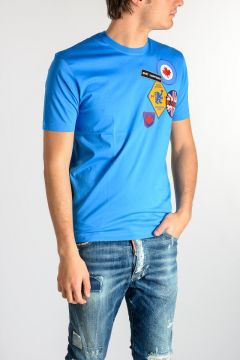 Jersey T-Shirt with Patches