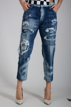 18cm TOMBOY Denim Distressed  Jeans