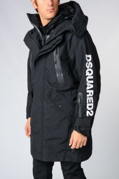 Nylon Jacket with Down Jacket
