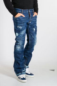 SKI Stretch Denim Technical Pants