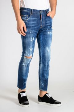 16 cm Stretch Denim SKATER Jeans