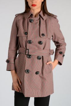 Virgin wool And Cotton Blend Coat