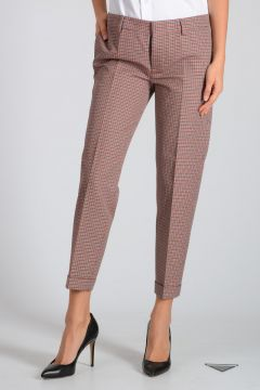 Virgin Wool & Cotton Pants
