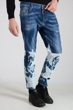 17cm Printed TIDY BIKER Jeans