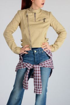 Jacket with Detachable Blouse