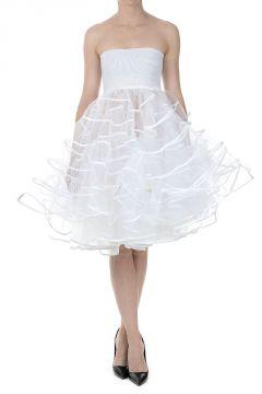 Tulle Flounced Dress