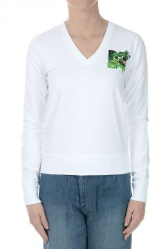 Round-neck Sweatshirt with Print