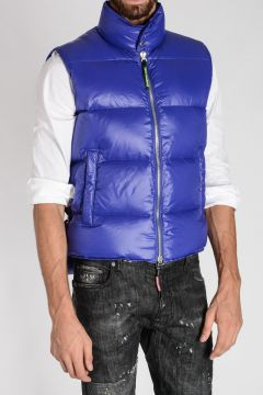 Sleeveless Puffer Down Jacket
