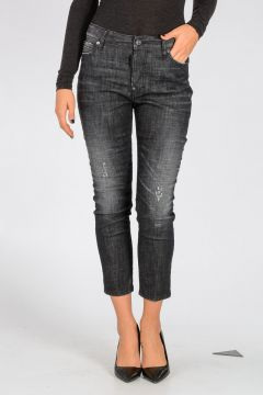 Stretch Denim LONDEAN Cropped Jeans
