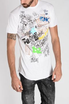 T-Shirt LONG COOL FIT Manica Corta