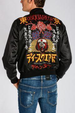 Tokyo Metro Flower Bomber Jacket