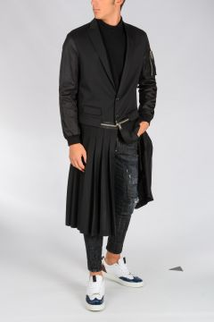PLEATED PUNK Coat
