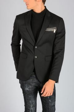 Stretch Virgin Wool Jacket