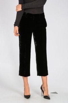 Velvet Capri Pants