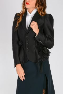 Silk and Wool VITTORIANA Blazer