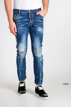 Jeans in Denim Strerch 16 cm