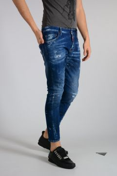 Jeans SEXY TWIST in denim stretch 16cm
