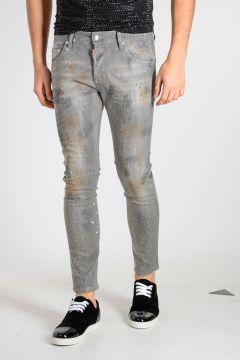 15cm Glitter Denim SKATER Jeans