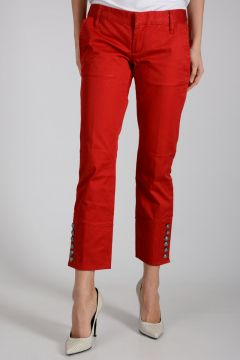 Capri Pants in Stretch Cotton