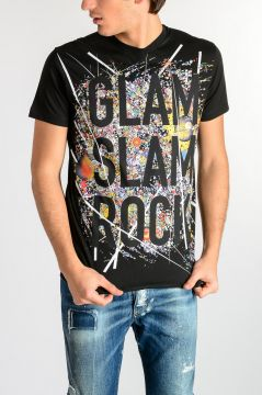 Glitter Printed T-shirt