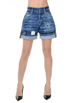 Stretch Denim short Jeans