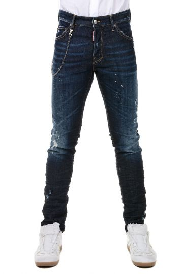 Stretch Cotton COOL GUY Jeans 17 cm