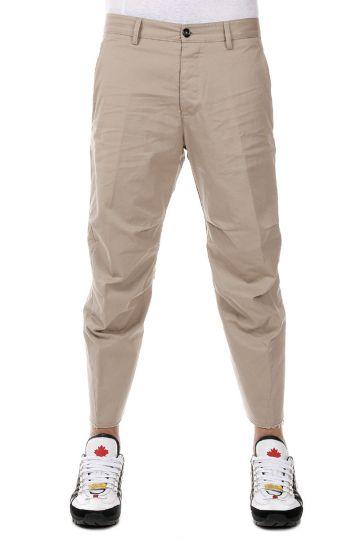 Pantaloni Capri in cotone