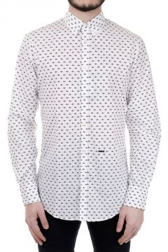 Airplanes Patterned Cotton Shirt