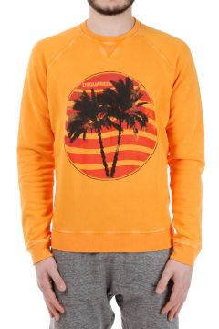 Round neck Printed Sweatshirt