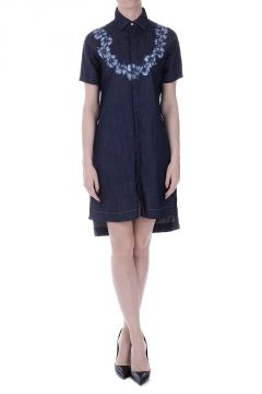 Stretch Denim Dress