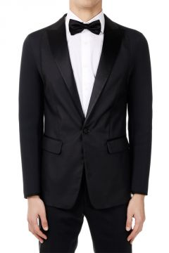 Silk Wool Blazer