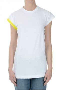 Roundneck T-shirt with Application on Sleeve