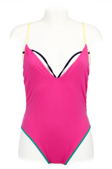 Nylon Blend One-piece Swimsuit