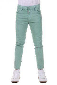 Pantalone KENNY CROPPED In Cotone Stretch 16cm