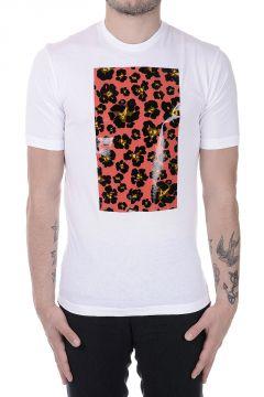 Cotton Round Neck printed T-shirt