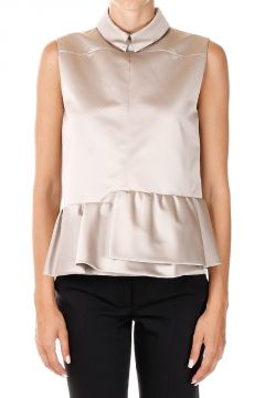 Lined Top With collar