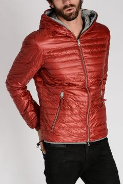 Reversible Hooded DRAGO-ERRE Down Jacket